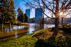 GRAND RAPIDS FLOOD 2013-1458 (RichardDemingPhotography) Tags: flooding flood michigan grandrapids grandriver grandrapidsmichigan floodwater westmichigan downtowngrandrapids puremichigan flood2013 michiganflooding grandrapidsflood