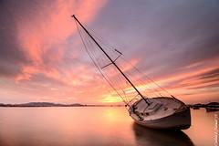 Varado (Only Raw) (Carlos J. Teruel) Tags: sunset atardecer boat nikon mediterraneo barco paisaje tokina murcia nubes fx marmenor lightroom marinas filtros xaviersam onlyraw singhraynd3revgrad carlosjteruel d800e