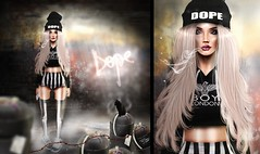 Dope (Taking clients - rawscientist GossipGirl -) Tags: art digital photography sl pixel dope rehab rahb paintover