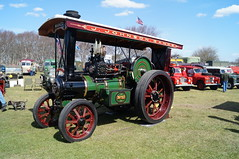 Traction (BiggestWoo) Tags: park vintage holidays harrison riverside rally steam lancashire vehicle caravan southport banks merseyside