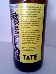 BrewDog – Lichtenstein Pale Ale, back (The Puzzler) Tags: beer glass bottle label cerveza tatemodern popart bier cerveja birra bière lichtenstein pivo olut øl paleale brewdog starköl torpedolos