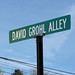 David Grohl Alley - Street Sign