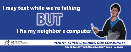 Photo - Youth-Friendly RTD Bus Public Service Announcements
