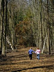 Friendship (i need my blankie) Tags: friends kids children woods child behind quin coralina storybookwinner storybookttwwinner