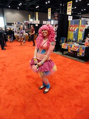 Super Cute Pinkie Pie! (blueZhift) Tags: chicago anime comics costume comic expo cosplay manga videogames entertainment animation mlp mylittlepony c2e2 2013 pinkiepie