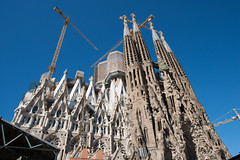 Sagrida Familia Barcelona (JinLancs) Tags: geocity exif:iso_speed=100 exif:focal_length=24mm camera:make=nikoncorporation exif:make=nikoncorporation geostate geocountrys exif:lens=140240mmf28 exif:aperture=90 exif:model=nikond800e camera:model=nikond800e