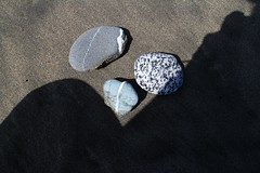 rocks on Baker Beach.... () Tags: sanfrancisco california rocks bakerbeach ggbwithtrees