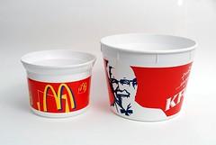 พิมพ์ถังไก่ เคเอฟซี แมคโดนัล KFC McDonald