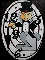 Bunny Boy (Robson Lelis) Tags: boy bunny art girl artist arte fine garoto quadro pop canvas popart brazilian robson garota coelho brasileiro pintura artista plstico playmate tela coelhinho contempornea coelha toyart coelhinha lelis rlelis