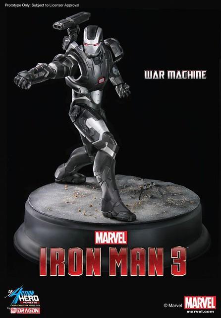 香港威龍新作連發!鋼鐵人雕像作品情報更新!