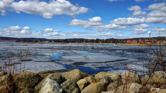Hamar by the lake Mjøsa (Greg SP) Tags: lake norway april hdr hamar mjøsa norwegia