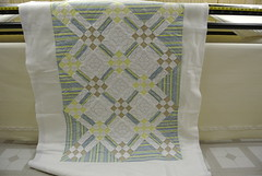 On Point, maed by Terry W. 1 (Lizzy Jo Quilts) Tags: quilting quilts machinequilting 9patch longarmquilting