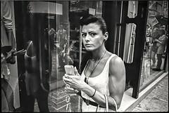 Leica M4 (Costas Lycavittos) Tags: street film streetphotography cellphone athens mobilephone rodinal monastiraki kodaktrix400 leicam4 lycavittos lycavittoshill epsonv750  costaslycavittos elmaritm28mm28