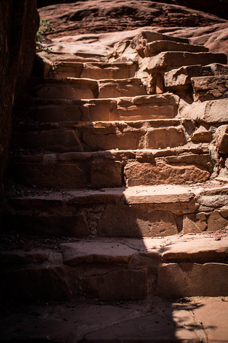 Slide Rock Park Staircase