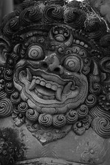 lekker bekkie (Donna Da Yettta - @work & study) Tags: old travel bali sculpture detail art tourism monument face monster statue rock stone architecture mouth indonesia asian religious outdoors temple scary ancient worship asia dragon symbol god spirit background traditional religion decoration culture evil belief east ugly angry figure sacred demon devil tradition oriental spiritual hindu hinduism protection indonesian balinese