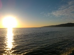CAM00205 (Kaseim Johnson) Tags: ocean california santa ca sunset beach los angeles monica