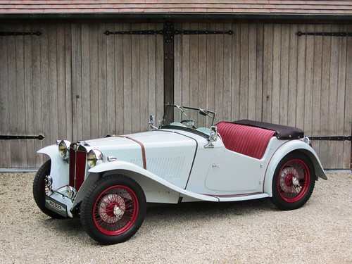 MG TC (1947) RHD.