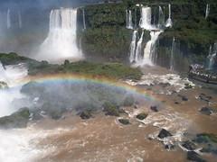 Arcoiris - Rainbow (papoga61) Tags: water rio arcoiris landscape rainbow agua paisaje falls cataratas salto marvelous maravilla flickrandroidapp:filter=none