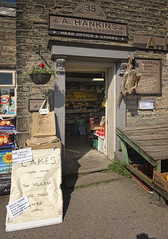 Village Shop ... Rabbits for sale (JEFF CARR IMAGES) Tags: derbyshire peakdistrict hayfield stonebuilt englishvillages