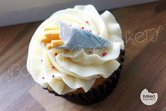 Chips Cupcake (Baked. Cupcakery) Tags: birthday cakes cake newcastle cupcakes newspaper durham north chips east novelty gift sunderland supplier occassion bakedcupcakery