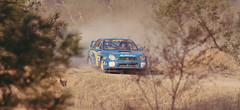 Rally through the trees (Erin Hourigan) Tags: tree speed rally dirt subaru flick drift