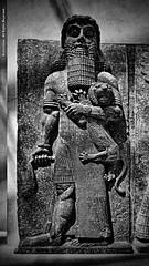 Gilgamesh (Armin Hage) Tags: museedulouvre louvre mesopotamia babylon babel akkadian uruk sumer paris france colossal arminhage