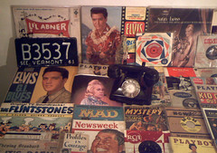 1961 (Retro King) Tags: 1961 retro records vinyl magazines vintage albums elvis books collectables 1960s
