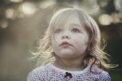 Grace, two-and-a-bit years old. (markfly1) Tags: grace graceful pretty young girl child children staring sky clouds cute wistful sun drenched bathed light shadow glow nikon d750 50mm sigma art lens