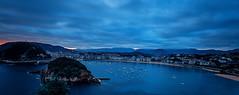 sansebastiandawnview (of ) copy copy (jsvamm) Tags: ifttt 500px san sebastian spain basque sunrise dawn colours view beaches