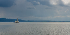 Sail away ... (hjuengst) Tags: ammersee lake sailboat bayern bavaria herrsching