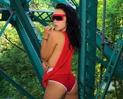 DSC_0861 (Cameron_McLellan) Tags: model modeling photography photoshoot photo series winniethepooh winniethepoo redshirt acdc foto fotografia cmfotography tasha toronto fashion fashionphoto style sunglasses glasses fotography portrait retrato