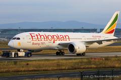 ET-AOP - Boeing 787-860 Dreamliner - Ethiopian Airlines - CN 34744/44 (Bastien Spotting Aviation) Tags: etaop boeing 787860 dreamliner ethiopian airlines cn 3474444 bastien engerbeau