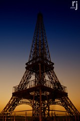 DSC_2439-61 (RJ-Clicks) Tags: eiffel eiffeltower steel steelstructure paris france pakistan sunset