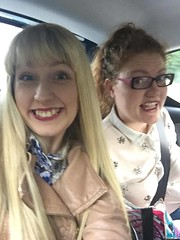 On the way to Liverpool (Elysia in Wonderland) Tags: liverpool trip car selfie petes phone elysia lucy