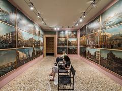 Giant postcards (lars_uhlig) Tags: 2016 city italia italien itlay stadt venedig venezia venice palazzo querini stampalia paintings gemlde bilder ausstellung