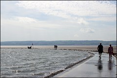West Kirby Wirral  230816 (14) (over 4 million views thank you) Tags: westkirby wirral lizcallan lizcallanphotography sea seaside beach sand sandy boats water islands people ben bordercollie dog beaches reflections canoes rocks causeway yachts outside landscape seascape