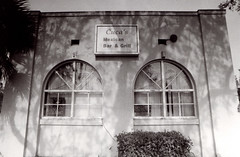Exa 1C Rialto PE Station 3 () Tags: vintage retro classic film camera losangeles california riverside history west coast architcture eastgerman ddr gdr exa dresden slr 35mm black white bw kodak tmax m42