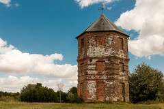 The Pepperbox (Keith in Exeter) Tags: pepperbox folly building architecture nationaltrust landscape alderbury wiltshire england windvane weathervane brick tower outdoor hexagonal