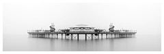Amusement (picturedevon.co.uk) Tags: paignton pier beach torbay englishriviera devon england seascape fineart abstract minimal le be blackandwhite longexposure leefillter littlestopper mist fog outdoors coast panoramic