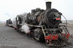 I_B_IMG_8212 (florian_grupp) Tags: asia china steam train railway railroad bayin lanzhou gansu desert landscape loess mountains sy ore mine 282 mikado steamlocomotive locomotive