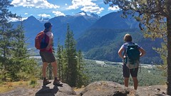 View (Whistler Whatever) Tags: canada squamish river cliff green snow valley mountains sunny summer trees glacier hike ledge bc
