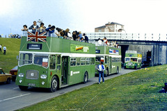 Slide 077-59 (Steve Guess) Tags: open top topper topless bus 401dcd southdown leyland titan queen mary epsom downs derby day surrey england gb uk racecourse