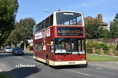 East Yorkshire 664, PN02XBH. (EYBusman) Tags: east yorkshire motor services eyms hull bus coach bempton lane bridlington plaxton president volvo b7tl go ahead london central regional transport buses pvl260 pn02xbh eybusman