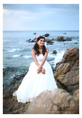 Queen of Ceylon (Varjan photography) Tags: here comes first impression  copyrights all rights reserved   varjan photography queen beach photoshoot candid cute candidphotography cuteness wedding weddingcandids weddingphotography weddingphotogrphy