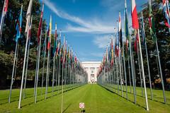 (Maya Lucchitta) Tags: geneva genf genve switzerland flags palais schweiz suisse un unitednations