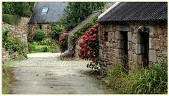 Postcard from Kersaint Brittany (in explore) (patrick_milan) Tags: kersaint finistre couleur color landscape paysage breton maison haouse window fentre jardin bleu ploudalmez plouguin ruby10