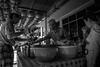 Enjoy the meal (Henry Sudarman) Tags: samsungnx nx nx10 blackandwhite hitamputih jakarta glodok indonesia