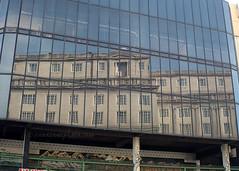 Adelphi Reflection (.annajane) Tags: liverpool adelphihotel reflection window glass ofiveone brownlowhill uk england merseyside architecture