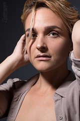 Jillian (austinspace) Tags: woman portrait spokane washington studio alienbees blond blonde nude stylist lips lipstick