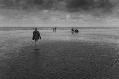 To the sea (tabulator_1) Tags: southport ainsdale blackwhite